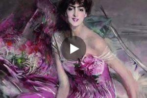 La Belle Époque di Giovanni Boldini. Qui il video