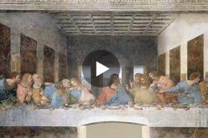 """""""L'ultima cena"""" di Leonardo da Vinci in 3D! Qui il video"""