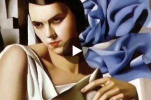Le opere di Tamara de Lempicka sulle note di Astor Piazzolla. Qui il video