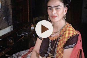 Frida Kahlo: qui il filmato originale in cui dipinge in compagnia di Diego Rivera