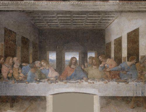 """""""Il Cenacolo"""" di Leonardo da Vinci in un video in 3D"""