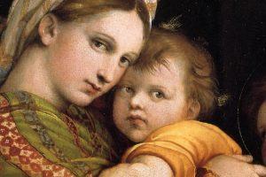 """La """"Madonna della Seggiola"""" di Raffaello: """"felice al di là del sogno comune"""""""