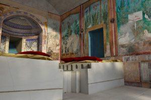 La Casa del bracciale d'oro di Pompei in uno strepitoso filmato in 3D