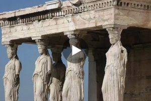 L'Acropoli di Atene in una spettacolare ricostruzione in 3D. Qui il video