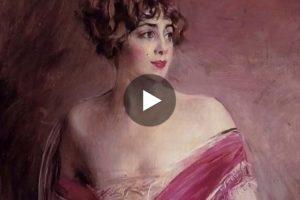 Le donne di Giovanni Boldini. Qui il meraviglioso video