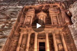 Petra, l'antica città scavata nella roccia, in uno spettacolare video in 3D