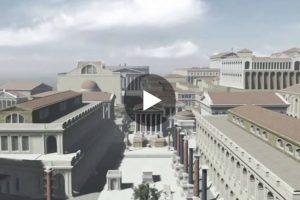 L'antica Roma in un entusiasmante video in 3D. Bellissimo viaggio nel tempo
