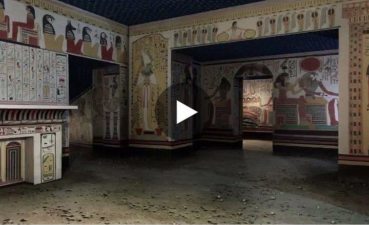 Viaggio in 3D nella Tomba di Nefertari. Qui lo straordinario video