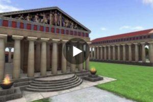 Un interessante video in 3D ci restituisce l'immagine dell'antica Paestum