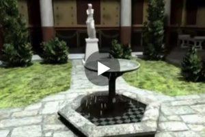 Una Domus Romana ricostruita in un affascinate video in 3D