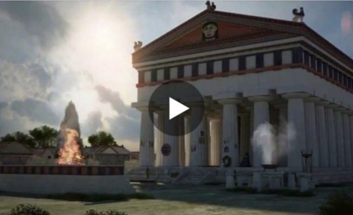 L'antica Siracusa ricostruita con uno spettacolare video in 3D