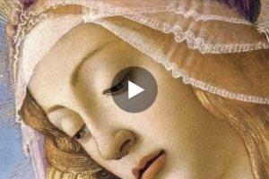 Sandro Botticelli: la bellezza è nei dettagli. Qui il video