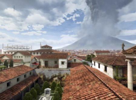 """""""Un giorno a Pompei"""": l'eruzione del Vesuvio ricostruita in un video"""