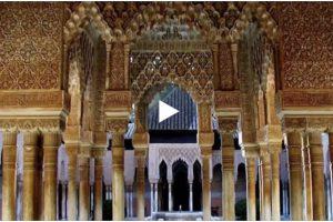 L'Alhambra di Granada in una straordinaria  ricostruzione in 3D. Qui il video