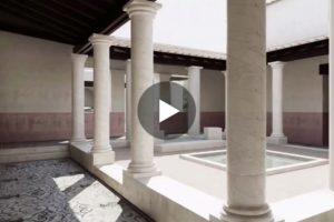 Un interessante video in 3D restituisce l'aspetto della Villa romana di Salar (Granada)