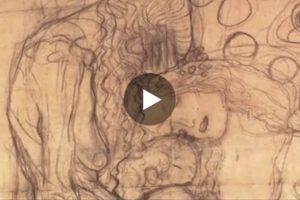 I disegni di Gustav Klimt in un suggestivo video