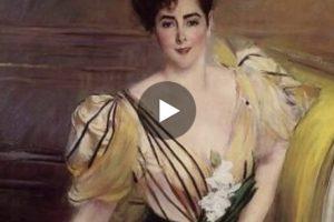 Giovanni Boldini: fascino e seduzione. Qui il video