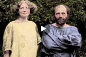 La vita di Gustav Klimt attraverso alcune foto raccolte in video