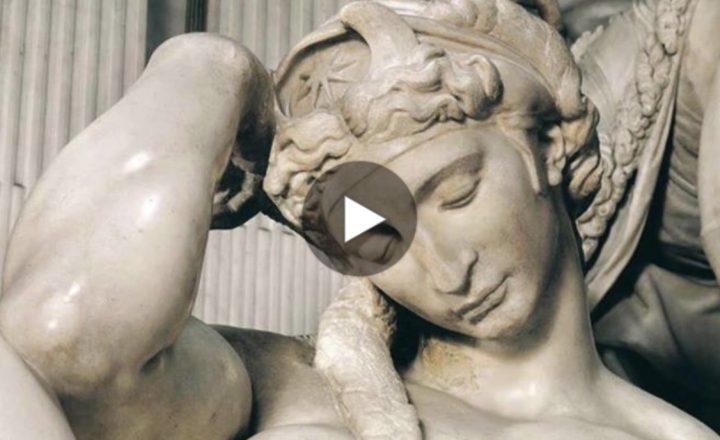 """La """"Notte"""" di Michelangelo in un suggestivo video"""