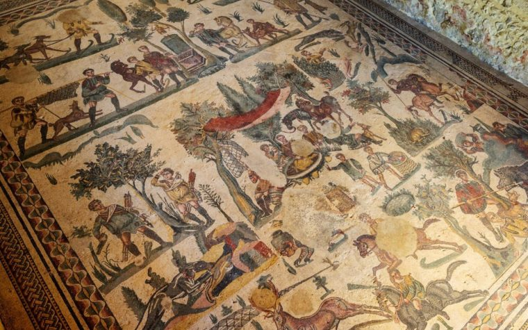 La Villa romana del Casale a Piazza Armerina. Un documentario in formato mosaico antico