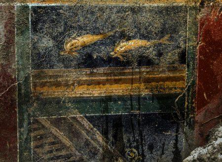 Straordinaria scoperta a Pompei: emerge la 'Casa dei Delfini'