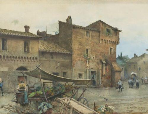 """La """"Roma Sparita"""" di Ettore Roesler Franz"""