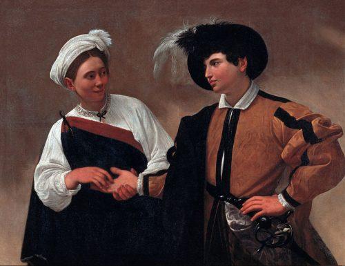 """La """"doppia"""" Buona Ventura del Caravaggio"""