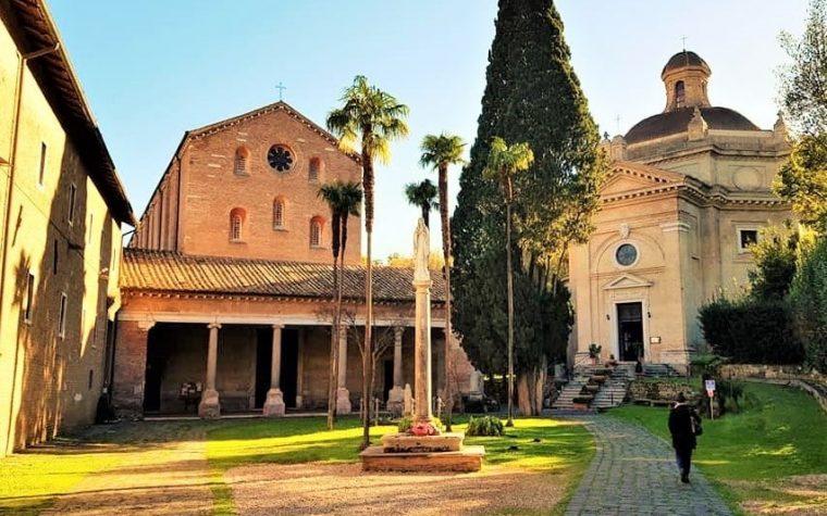 Roma e il complesso dell'Abbazia delle Tre Fontane