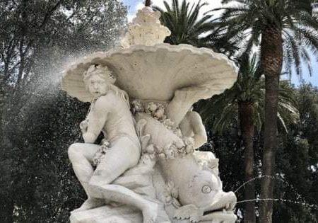 Tesori di Napoli: La fontana del Belvedere a Capodimonte. Ritorno ad antichi splendori