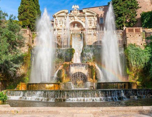 Villa d'Este a Tivoli: spettacolo di natura e arte