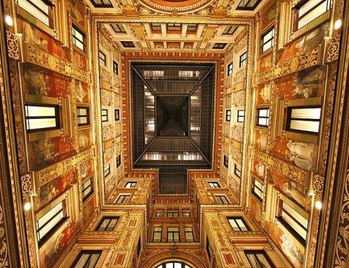 Galleria Sciarra: l'angolo Liberty di Roma