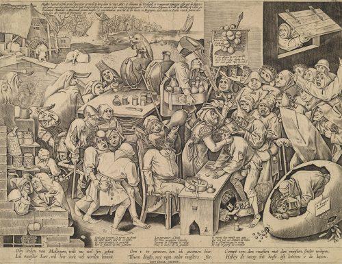 Pieter Bruegel il Vecchio e la guarigione della follia