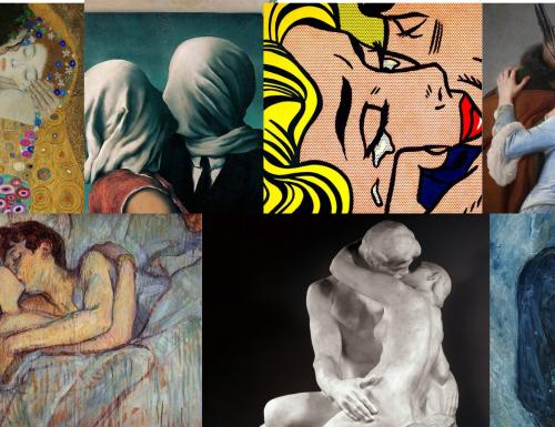 Il bacio raccontato nelle dieci opere d'arte più romantiche e famose