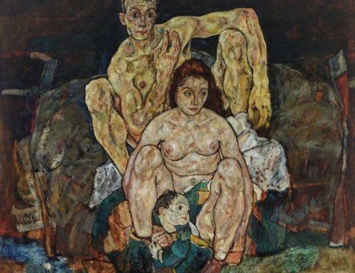 """Egon Schiele, """"La Famiglia"""": l'ultima immagine di una famiglia distrutta dalla """"spagnola"""""""