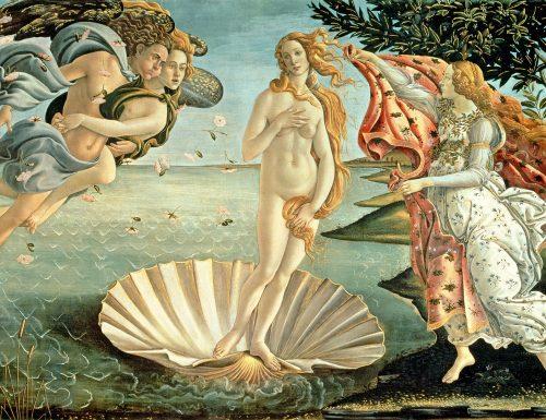 """Dentro l'opera: la """"Nascita di Venere"""" di Sandro Botticelli"""